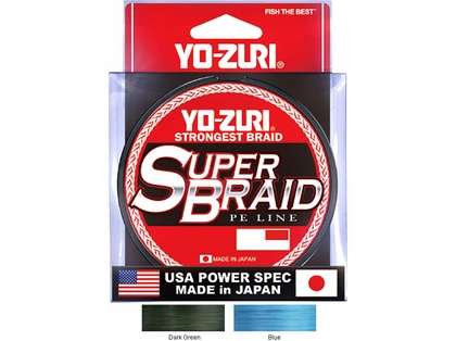 Yo-Zuri SuperBraid PE Fishing Line