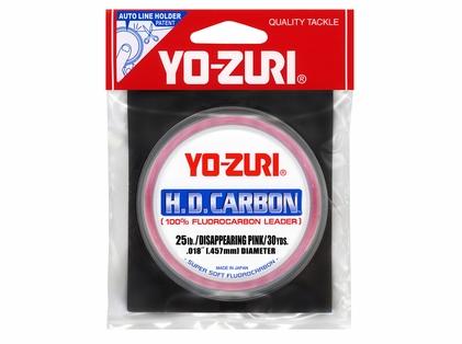 Yo-Zuri HD25LB-DP Fluorocarbon Leader