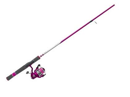 Zebco A33SPLTHTA Ladies Authentic 33 Spinning Combo