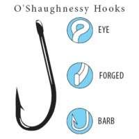 Gamakatsu 130 O'Shaughnessy Hook