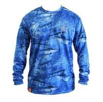 Aftco Guy Harvey Legend Long Sleeve Performance Shirt