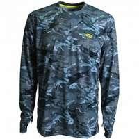 AFTCO M61107 Caster Long Sleeve Sun T-Shirt