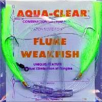 Aqua-Clear FW-1EC Flounder/Weakfish High/Low Rig