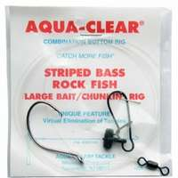 Aqua-Clear ST-7CFF Striped Bass Large Bait/Chunking Rig