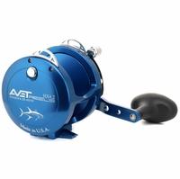 Avet HX 4.2 Single Speed Lever Drag Casting Reel Blue