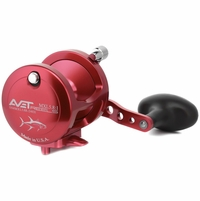 Avet MXL 5.8 Single Speed Lever Drag Casting Reel Red
