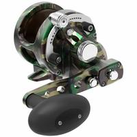 Avet SXJ 6/4 MC Raptor 2-Speed Lever Drag Casting Reel Green Camo