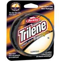 Berkley Trilene Transoptic Monofilament 10-17lb 220yds Clear Gold