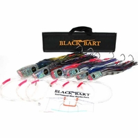 Black Bart Lures Tournament Blue Marlin Rigged Trolling Pack 2 Hook