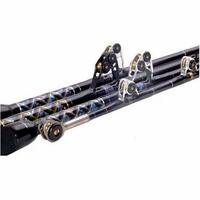 Black Bart WT180C Black/Gold Blue Water Pro 180lb IGFA Chair Rods