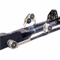 Black Bart WT80 Black/Silver Blue Water Pro 80lb Standup Stroker Rods