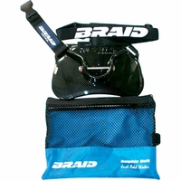 Braid 30181 Dolphin Stealth Carbon Fiber Finish Belt