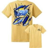 David Dunleavy DDM8005 Yellowfin Tuna Tee Yellow