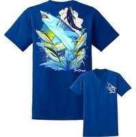 David Dunleavy DDM8022 Mako Shark Tee Royal Blue