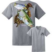 David Dunleavy DDM8024 Inshore Slam SS T-Shirt - Silver