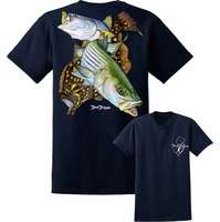 David Dunleavy DDM8025 NJ Slam SS T-Shirt - Navy