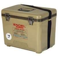 Engel UC19-T Cooler/Dry Box 19Qt Tan