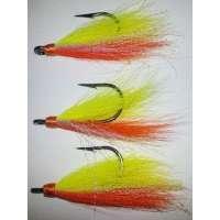Hooked On Bucktails DHNJ4 4/0 Orange Teaser