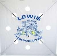 Lewis 100XH Extra Heavy Fishing Kite