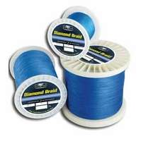 Diamond Braid Fishing Line 300yds Blue