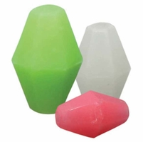 Owner 5197-508 Soft Glow Beads - Size 5 - Green - 22pk