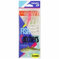 Owner 5525-075 Squid Skirt Sabiki Bait Catcher Rig