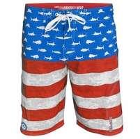 Pelagic Americamo Sharkskin Boardshorts