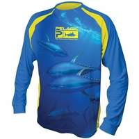 Pelagic 780-LS-YT VaporTek Long Sleeve T-Shirt