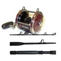 Penn 113H2 Senator Reel / Billfisher SSU3080C Stand-up Rod Combo