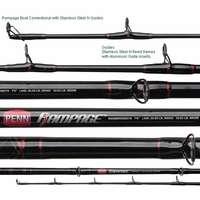 Penn RAMBW2040C70LB Rampage Casting Boat Rod