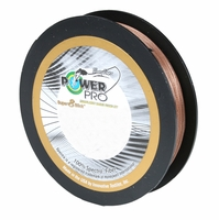PowerPro Super Slick Braided Line 20lb 150yds Timber Brown
