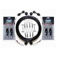 Rupp CA-0026-MO Double Rigging Kit with NOK-OUTS, Black Mono