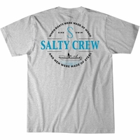 Salty Crew Small Craft T-Shirt - Athletic Heather Large 0e3ae752b592