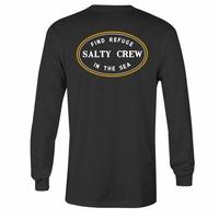 Salty Crew Standard Long Sleeve T-Shirt - Charcoal Heather bc3d90bda3a5