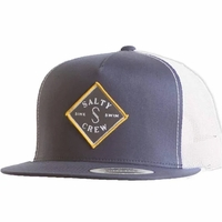 promo code 990f4 4a39e Salty Crew Tippet Stamped Trucker Hat