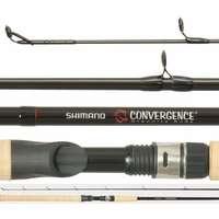 Shimano CVCL106M2B Convergence Salmon & Steelhead Casting Rod 2pc