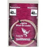 Shimano WOL040 Jigging Wind-On Leader 40lb
