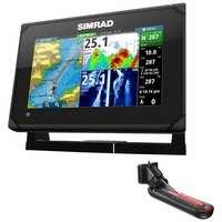 Simrad 000-12671-001 GO7 XSE w/ TotalScan Transom Mount Transducer