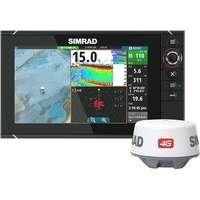 Simrad NSS9 evo2 Combo Multifunction Display w/ Insight USA & 4G Radar
