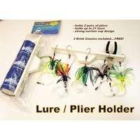 Sportfish SFP-LPH 3K Lure/Plier Holder w/ 3 Drink Koozies Accessories