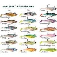 Storm WSS02 WildEye Swim Shad 2 Inch 3 Pack