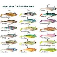 Storm WSS04 WildEye Swim Shad 4 Inch 3 Pack