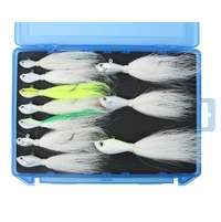 TackleDirect Spro Bucktail Kit w/ Foam Case