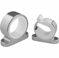 TACO Single Rod Hanger, Polished Stainless Steel - F16-2700-1