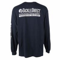 TackleDirect Logo-T Long Sleeve Navy XL
