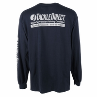 TackleDirect Logo-T Long Sleeve Navy XXL