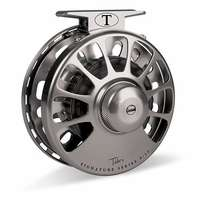 Tibor Signature Series 11-12 Fly Reel - Graphite w/ Black Hub