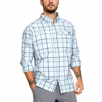 Under Armour 1290746 Fish Hunter Long Sleeve Plaid Shirt - On Sale 50% OFF